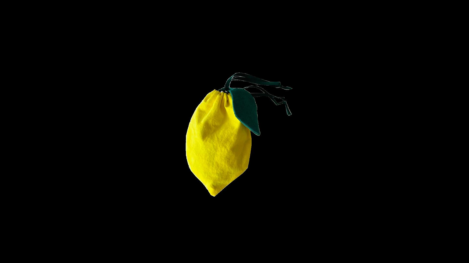 レモン巾着